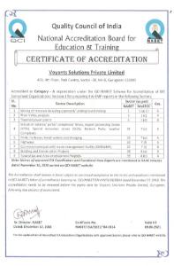 QCI NABET Certificate 2016